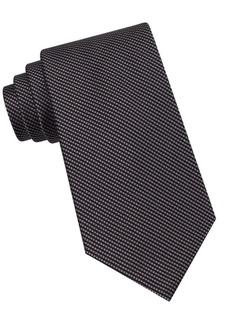 Calvin Klein Classic Fit Silk Birdseye Tie