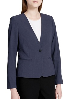Calvin Klein Classic One-Button Jacket