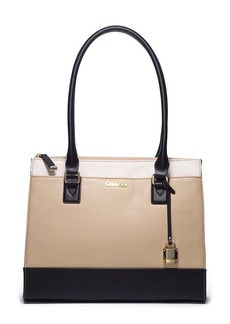 calvin klein calvin klein claudia satchel handbags shop it to me. Black Bedroom Furniture Sets. Home Design Ideas