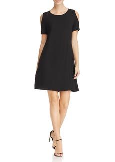 Calvin Klein Cold Shoulder Knit Dress