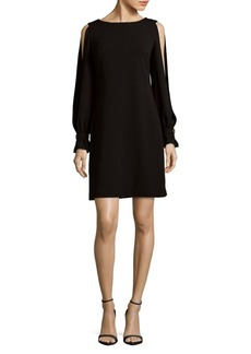 Calvin Klein Cold Shoulder Shift Dress