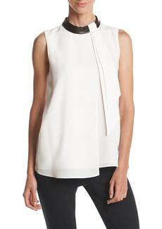 Calvin Klein Collar Blouse