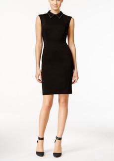 Calvin Klein Collared Sheath Dress