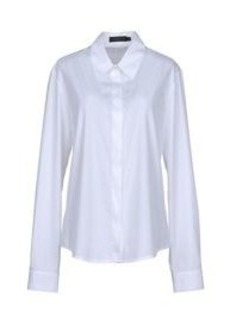 CALVIN KLEIN COLLECTION - Solid color shirts & blouses