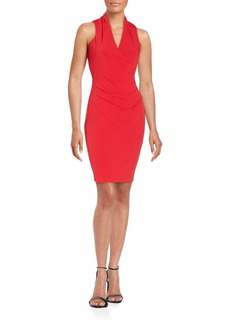 Calvin Klein Collection Cinched Bodycon Sheath Dress