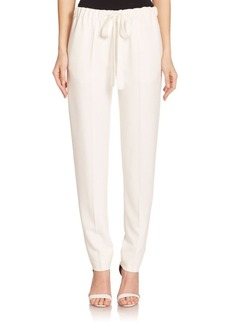 Calvin Klein Collection Dafne Drawstring Trousers