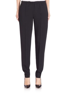 Calvin Klein Collection Francklyn Stretch-Cady Pants