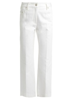 Calvin Klein Collection Frey straight-leg cropped jeans