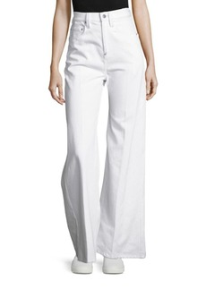 Calvin Klein Collection Geiger Bis Wide-Leg Jeans