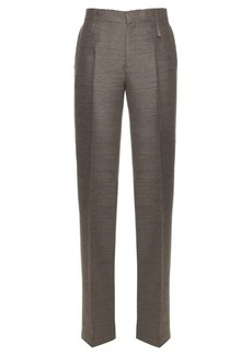Calvin Klein Collection Havino wool and silk-blend trousers