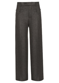 Calvin Klein Collection Huranal wide-leg flannel trousers