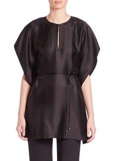Calvin Klein Collection Jacquard Kimono-Sleeve Blouse