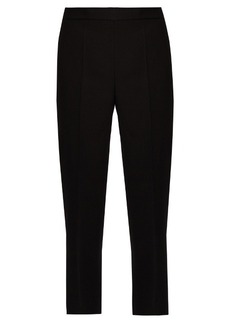 Calvin Klein Collection Jeno wool and silk-blend cropped trousers