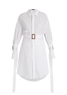 Calvin Klein Collection Katya belted cotton shirt