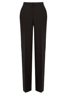 Calvin Klein Collection Kavino wool and silk-blend straight-leg trousers