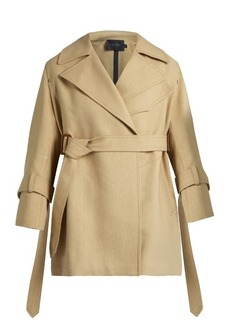 Calvin Klein Collection Kenneth belted trench coat