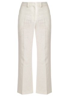 Calvin Klein Collection Lagen tailored linen trousers