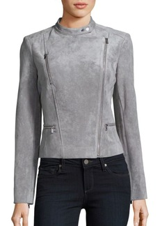 Calvin Klein Collection Long Sleeve Zipper Jacket