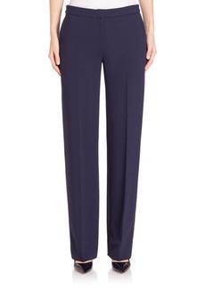 Calvin Klein Collection Niel Stretch-Cady Pants