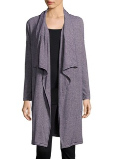 Calvin Klein Collection Open Front Long Jacket