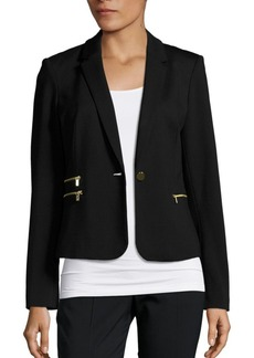 Calvin Klein Collection Ponte Jacket