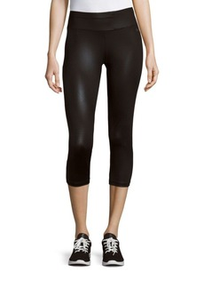 Calvin Klein Collection Printed Cropped Leggings
