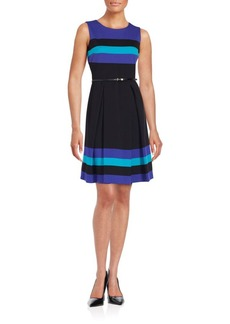 Calvin Klein Collection Sleeveless Colorblock Dress