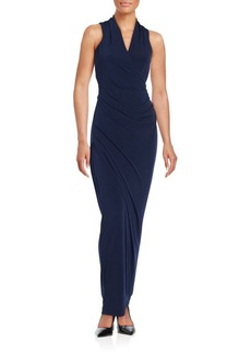 Calvin Klein Collection Sleeveless Sheath Gown