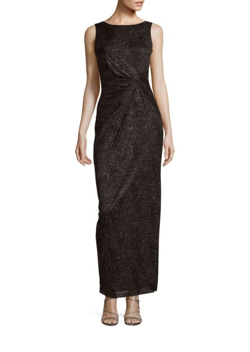 Calvin Klein Collection Solid Sheath Evening Gown