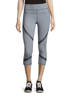 Calvin Klein Collection Striped Cropped Leggings
