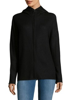 Calvin Klein Collection Zipped Cashmere Hoodie