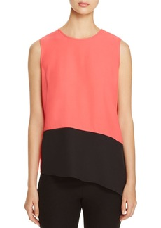 Calvin Klein Color-Block Sleeveless Top