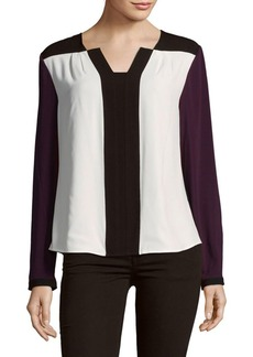 Calvin Klein Colorblock Blouse