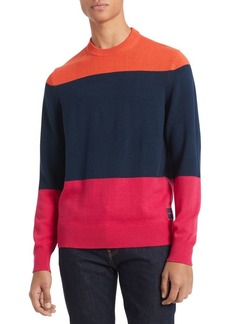 Calvin Klein Colorblock Crewneck Sweater
