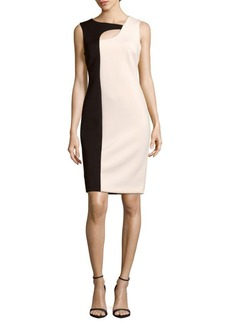 Calvin Klein Colorblock Sleeveless Dress