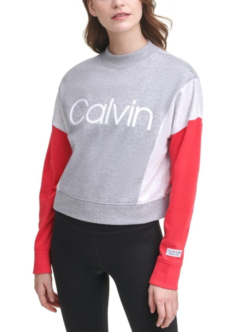 Calvin Klein Performance Colorblocked Active Sweatshirt