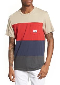 Calvin Klein Colorblocked Pocket T-Shirt