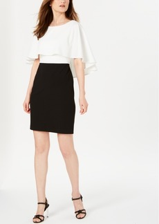Calvin Klein Colorblocked Popover Dress