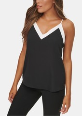 Calvin Klein Colorblocked V-Neck Cami