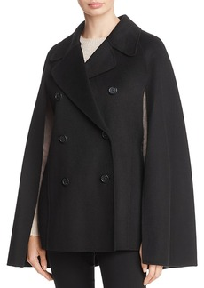 Calvin Klein Combination Cape Peacoat