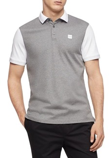 Calvin Klein Contrast Cotton Polo