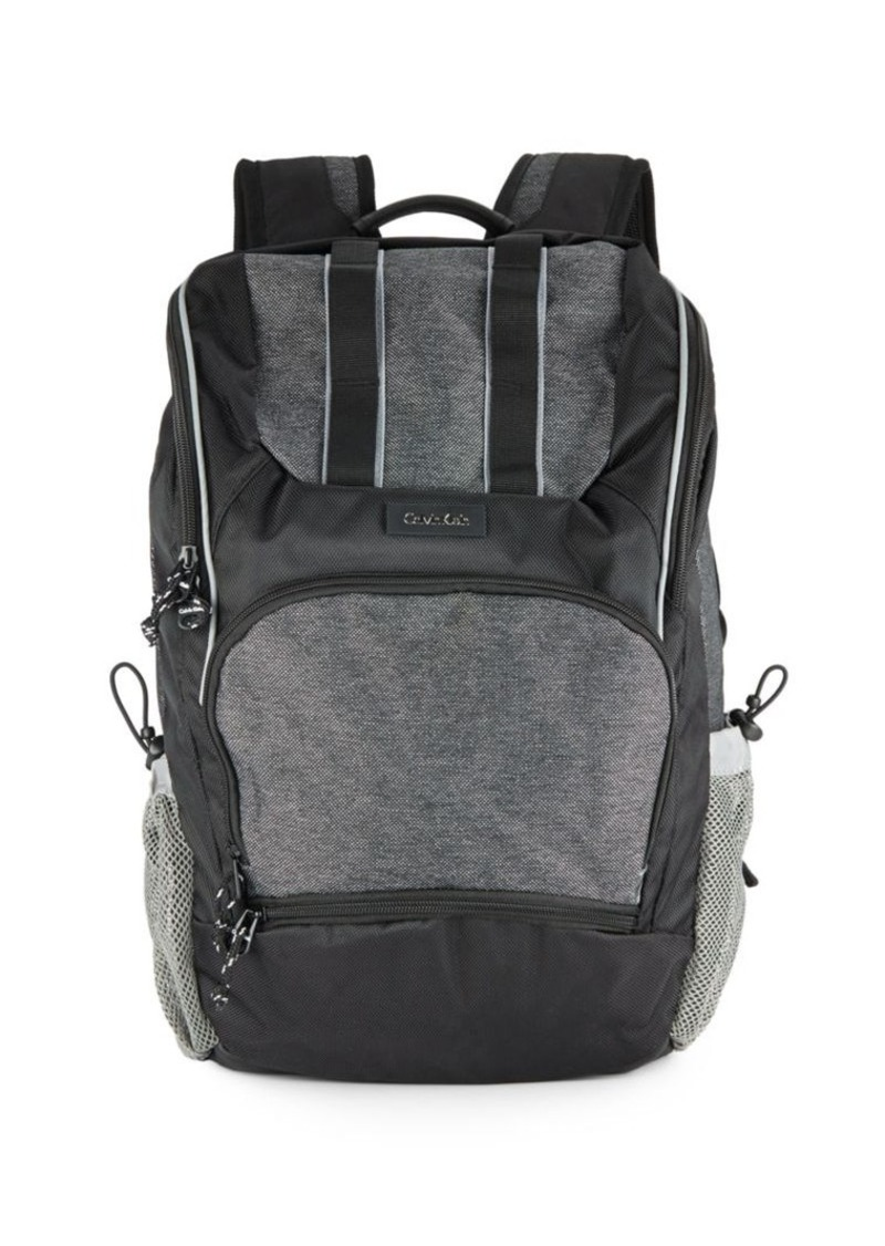 Calvin Klein Contrast Paneled Backpack