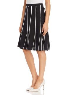 Calvin Klein Contrast-Seam Skirt