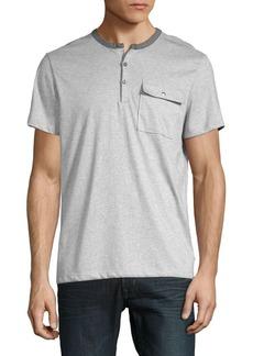 Calvin Klein Contrast Short-Sleeve Tee