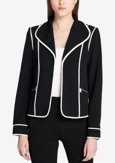 Calvin Klein Contrast-Trim Jacket