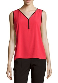 Calvin Klein Contrasting Sleeveless Top