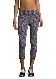 Calvin Klein Cotton-Blend Cropped Leggings