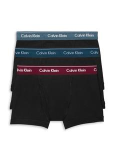 Calvin Klein Cotton Boxer Briefs - Pack of 3