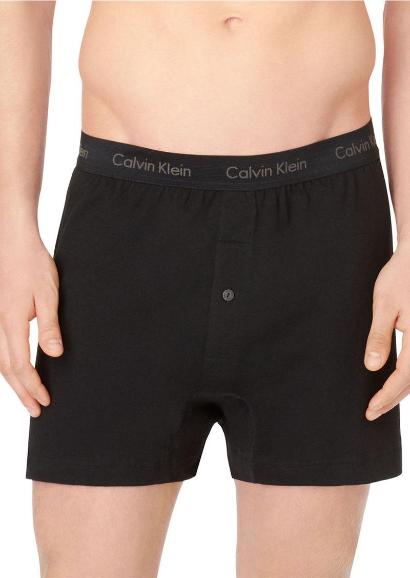 CALVIN KLEIN Cotton Classic 3 Pack Knit Boxer