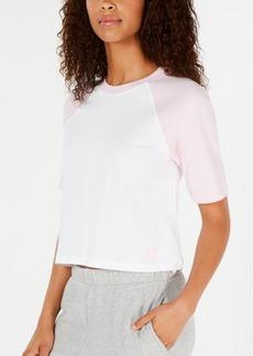 Calvin Klein Cotton Colorblocked Raglan Sleep Shirt QS6238